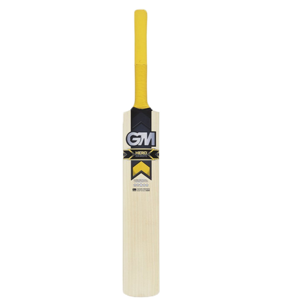 GM Cricket Bat English Hero DXM 303