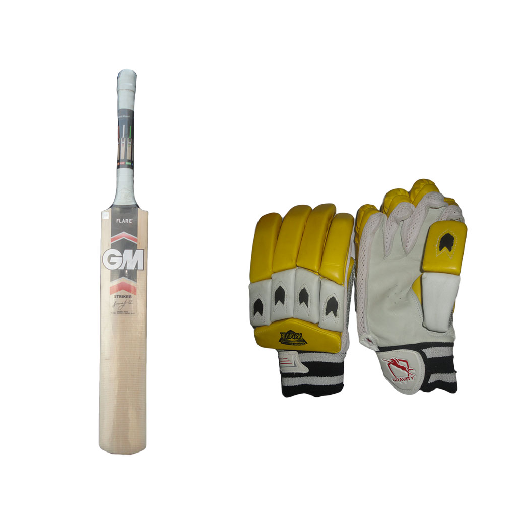 Offer on GM Flair Cricket bat and Free Thrax Batting Glove