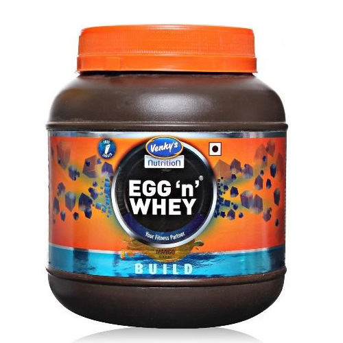 Venkys Nutrition Egg Whey Protein 500 gm