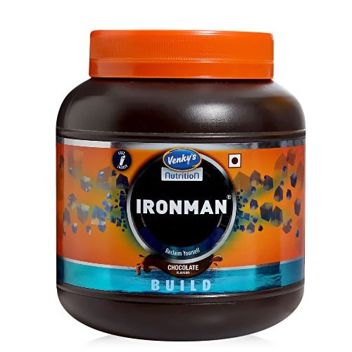 Venkys Nutrition Ironman Pre Workout Supplements 1 kg
