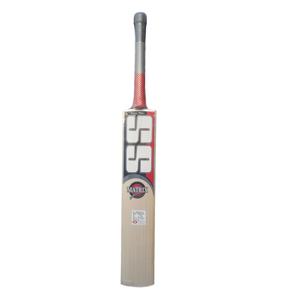 SS Cricket Bat English Ton Matrix