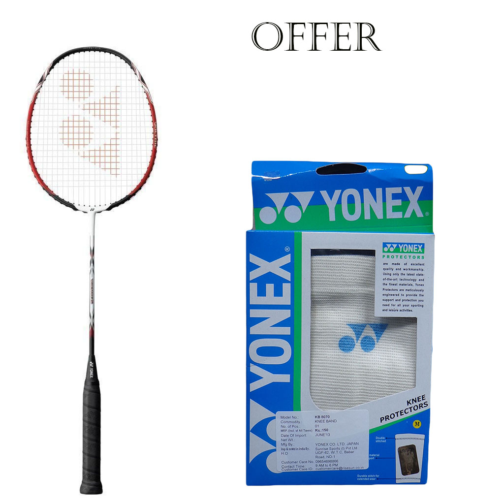 Yonex Voltric 2 VT2 Black Red Badminton Racket