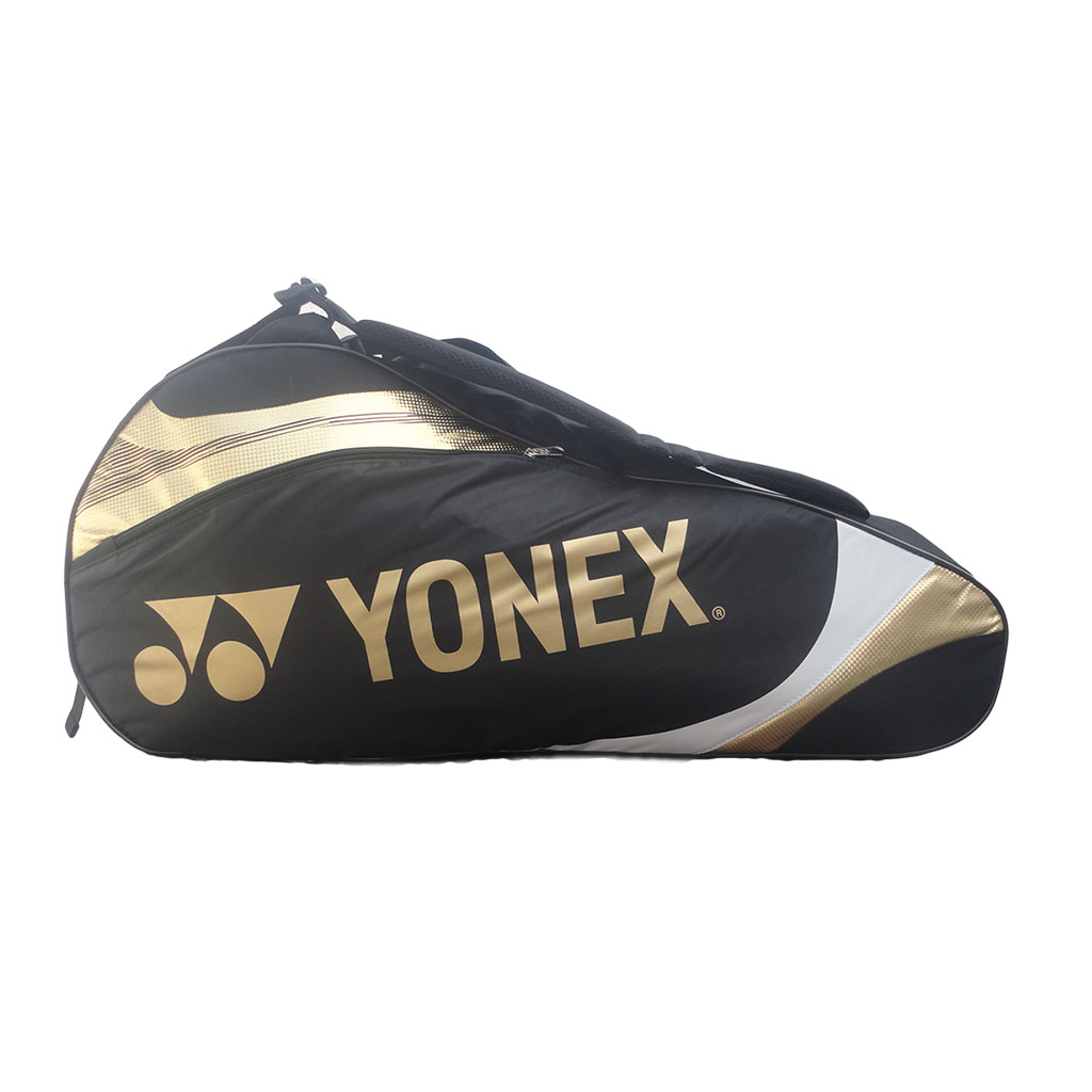 Yonex 7326 TG BT6 Black Gold Badminton Kit Bag