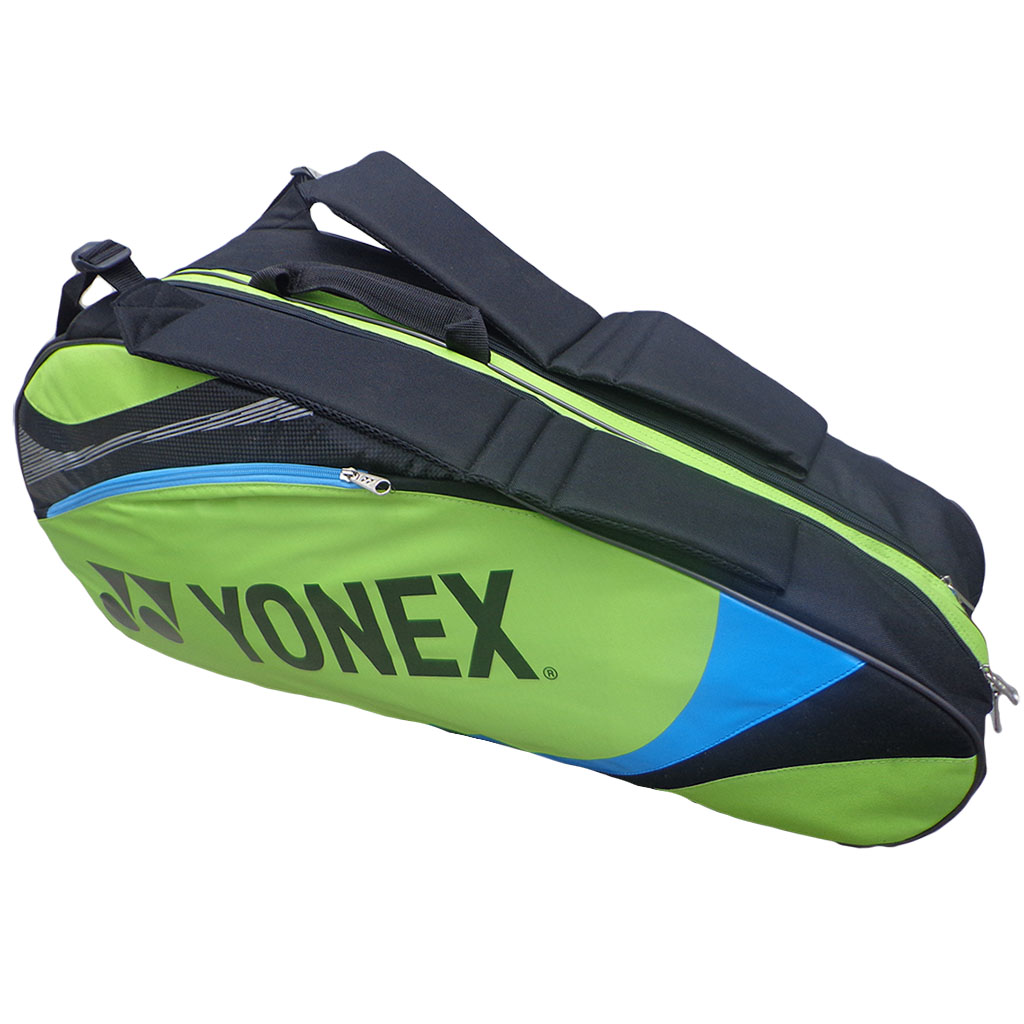 Yonex  SUNR 7326TG BT6 Green and black Badminton Kit Bag
