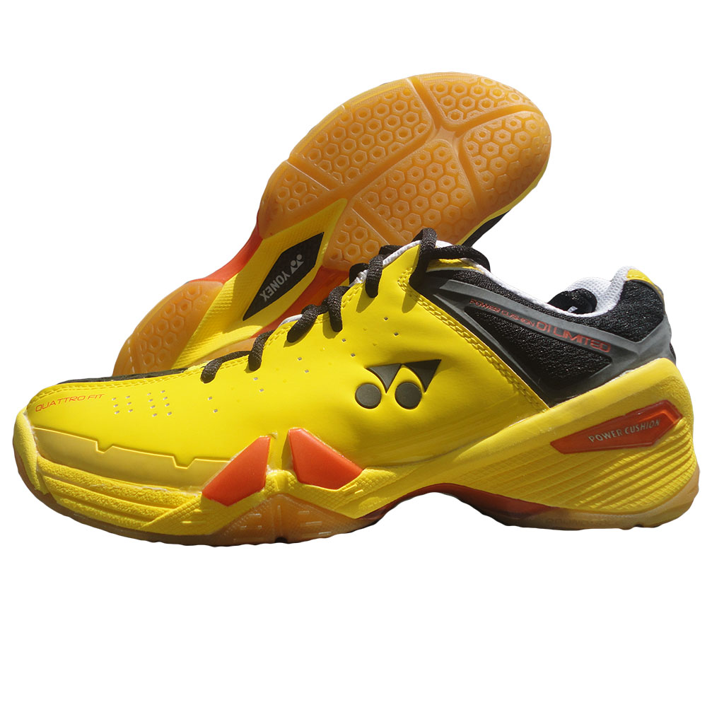 Yonex SHB 01 Ltd Yellow Badminton Shoes