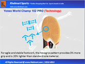 Yonex  World Champ 102 PRO Badminton Shoe