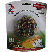 22 Yards Cricket Spikes Shoes Nails