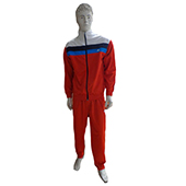 2GO Tracksuit Red and White Medium