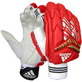 Adidas XT 1.0 Cricket Batting Gloves IPL Edition Red Model 1