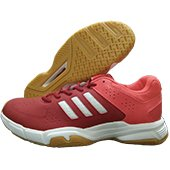 Adidas Quick Force 3.1 Badminton Shoes Red and White