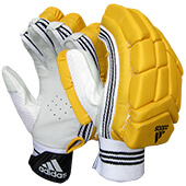 Adidas Incurza 4.0 Cricket Batting Gloves IPL Edition Yellow