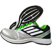 Adidas Hachi 1.0 S50323 Running Shoes Gray Black and Green