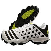 Adidas SL 22 Trainer Stud Cricket Shoes White and Black