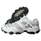 Adidas SL 22 Trainer Stud Cricket Shoes White Grey and Black