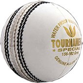 Aj Tournament Cricket Ball White Set of 3 Ball