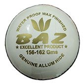 Aj Baz White Cricket Ball Set of 12 Ball