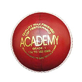 AJ Academy Red Cricket Ball Set of 24