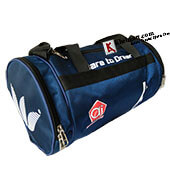 AJ Dare To Dream Duffle Gym Kit Bag Blue
