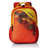 American Tourister Orange Casual Backpack