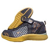 PRO ASE Basket Ball Shoe Black and Yellow