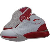 PRO ASE Basket Ball Shoe White and Red