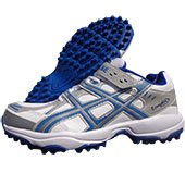 PRO ASE stud Cricket Shoes White and Blue