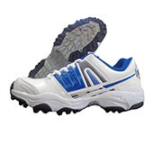 PRO ASE 007 stud Cricket Shoes Blue and White