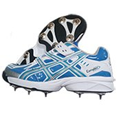 PRO ASE stud Full Spike Cricket Shoes Blue