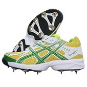 PRO ASE stud Full Spike Cricket Shoes Green