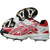PRO ASE stud Full Spike Cricket Shoes Red