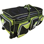 AVER Reserve Edition Cricket Kit Bag Black and Green