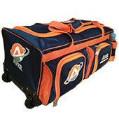 AVER Player Edition Cricket Kit Bag Orange and Blue