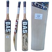 Bas Vampire Gold Kashmir Willow Cricket Bat