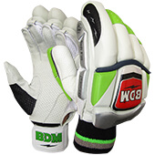 BDM Dynamic Super Batting Gloves White Black and Red