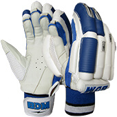 BDM Sachin Special Batting Gloves White and Blue