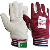 BDM Admiral Wicket Keeping Inner Gloves Red