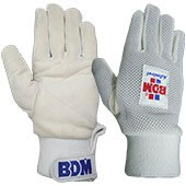 BDM Admiral Wicket Keeping Inner Gloves White