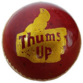 BDM Thums Up Cricket Ball 12 Ball Set Red