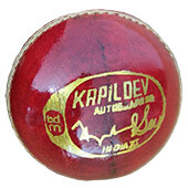 BDM Players Auto Cricket Ball 24 Ball Set Red
