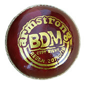 BDM Armstrong Cricket Ball 12 Ball Set Red