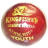 BDM King Fisher League Leather Cricket Ball 3 Ball Set