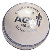 BDM Agni Leather Cricket Ball 6 Ball Set