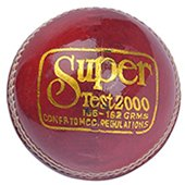 BDM Super Test 2000 Cricket Ball 6 Ball Set
