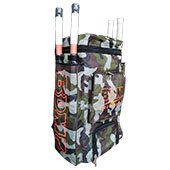 BDM Duffle Pro Cricket Kit Bag Army Color
