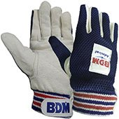 BDM Admiral Wicket Keeping Inner Gloves Blue