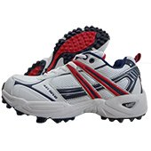 Balls 451 Revo Stud Cricket Shoe White and Red