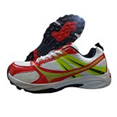 Balls T20 Cricket Shoes White Black Yellow Red