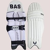 Bas Vampire Legend Cricket Batting Leg Guard Left Hand White