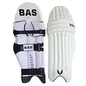 Bas Vampire Legend Cricket Batting Leg Guard White