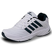 Campus ANTRO 3 Men White and Blue Sport Shoes